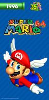 Super Mario 64 My Nintendo Smartphone Wallpaper