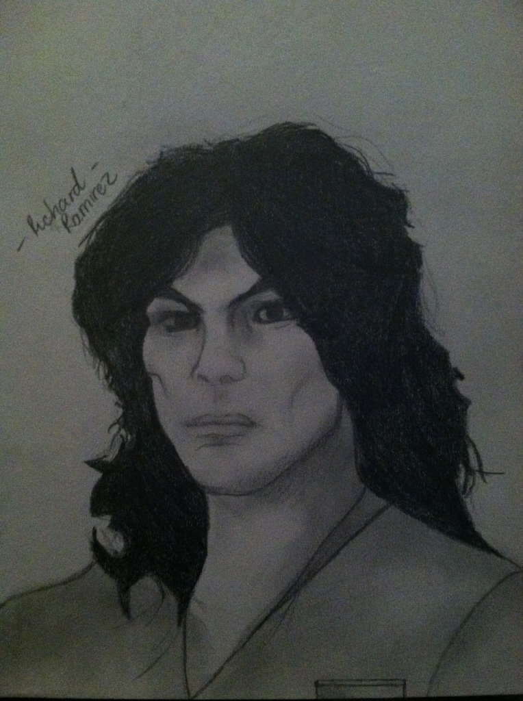 richard ramirez Richard ramirez, a transient based in los angeles, spent a terrifying portion of  1984 and 1985 slipping into windows and through unlocked.