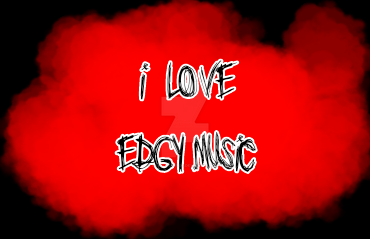 I love edgy music stamp by Ladylollypop