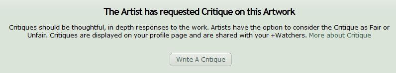 Critiques 1 by AzizrianDaoXrak