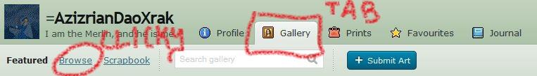 Gallery 1 by AzizrianDaoXrak