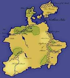 Three Hundred Kingdoms - Basic Map by AzizrianDaoXrak