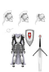 Reference - The Order of the Kinsguard Armor by AzizrianDaoXrak