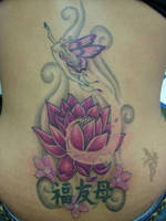 Lotus Faerie Tattoo by Faereality