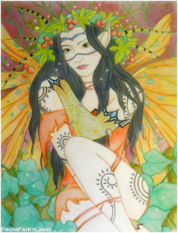 Dark Eyes Fairy by fromfairyland