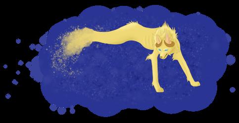 Maned wolf direloom by FeralxInsaNitY