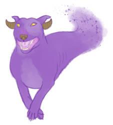 English Bull Terrier Direloom by FeralxInsaNitY