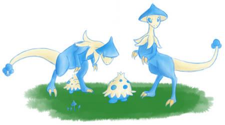 Blue breloom by FeralxInsaNitY