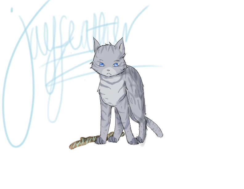 Jayfeather feat. the stick by Mintyfluff