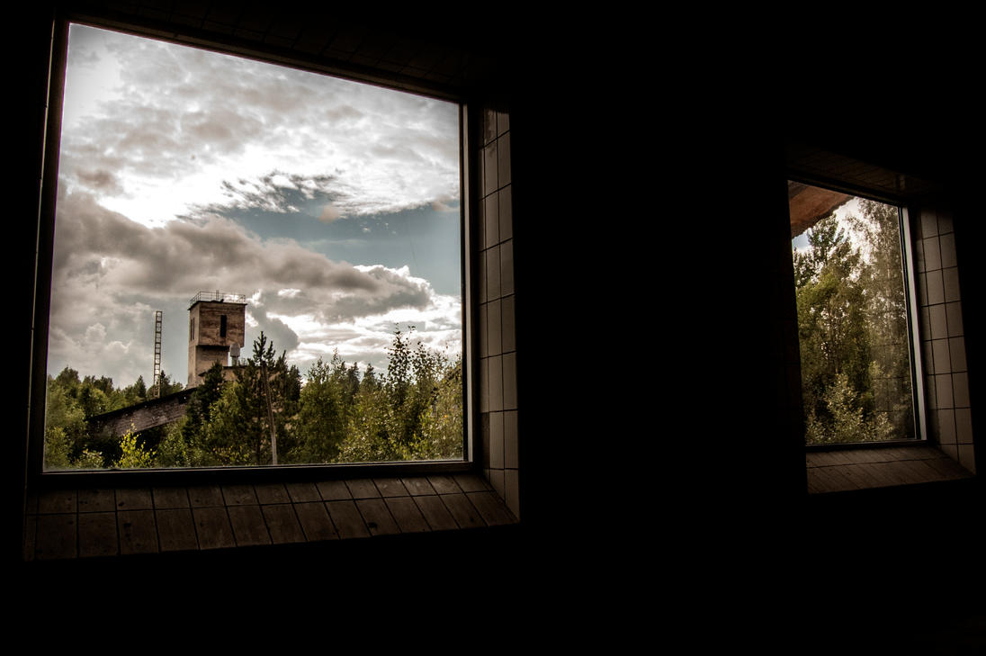 Window to the past by Greatmalinco