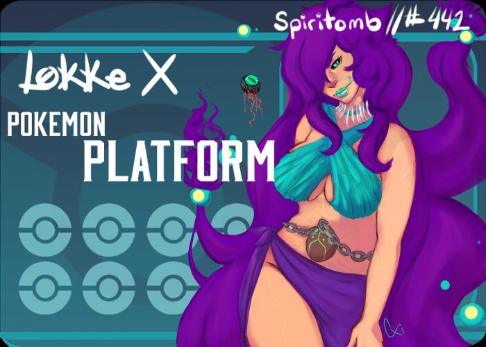 Pokeplatform Battle Card Lokke by CosmicXiren