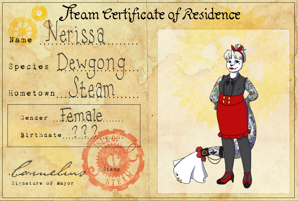 Nerissa the Tattooed Lady by TheGildedBank