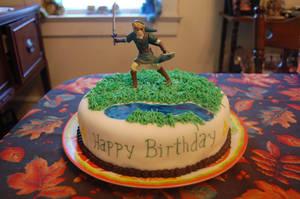 Legend of Zelda - Link Cake by simon-sez