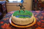 Legend of Zelda - Link Cake
