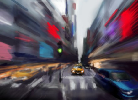 painted on iphone 4 by anastasky