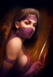 Mileena by Zendanaar