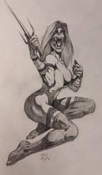 Mileena (Erotic Version) by Zendanaar
