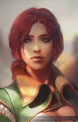 Triss  by Zendanaar