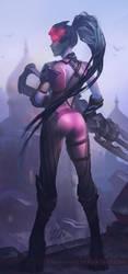 Overwatch - Widowmaker by Zendanaar