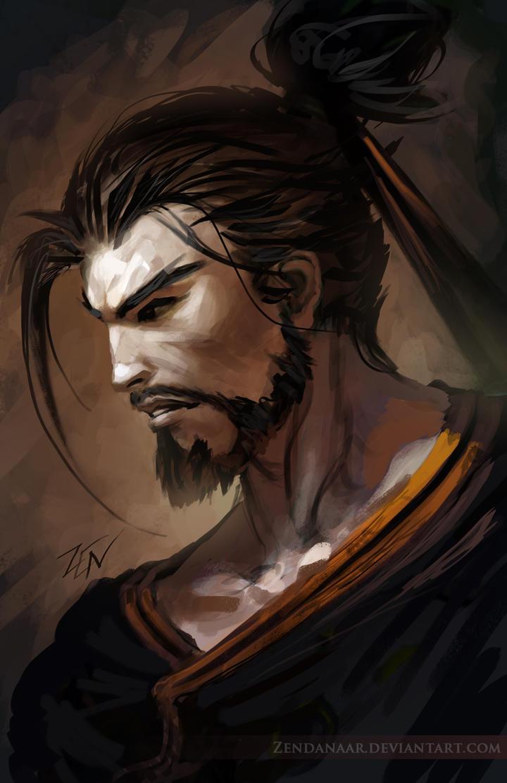 Overwatch - Hanzo by Zendanaar