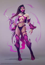MK World - Mileena by Zendanaar