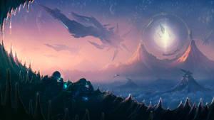 Hidden fleet by StarWolfEmperial