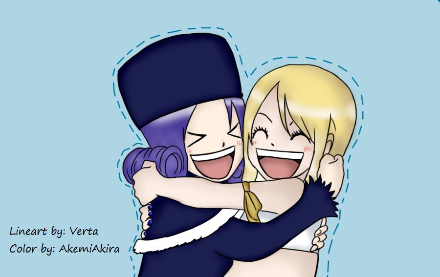 Juvia_y_Lucy_Fairy_tail by AkemiAkira02