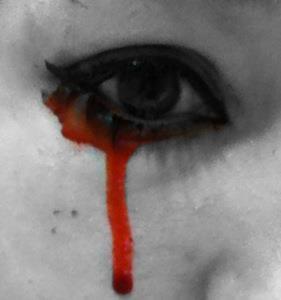 Bloody Tear by captainsarasparrow