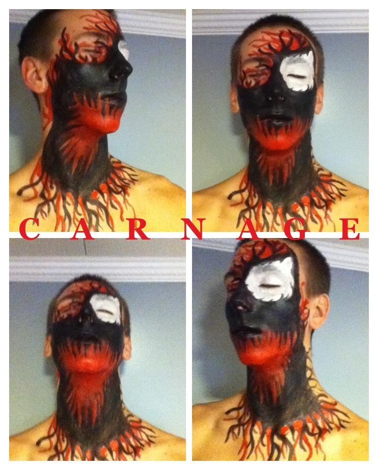 Carnage Body Paint