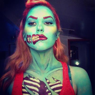 Pop Art Zombie by captainsarasparrowPop Art Zombie Makeup