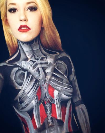 Ultron by captainsarasparrow