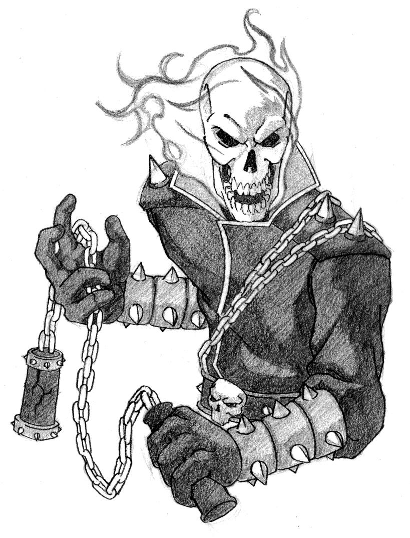 Ghost Rider By Creid On Deviantart