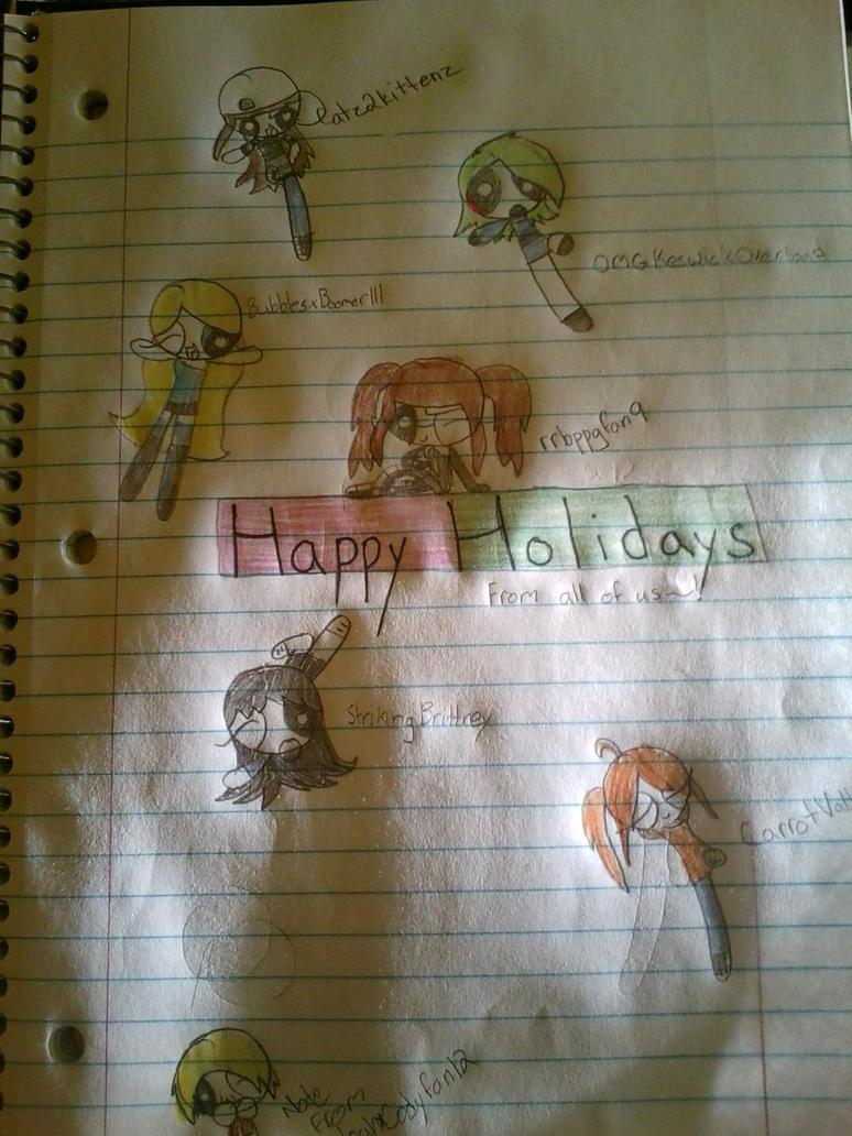 Happy Holidays!!! by honneyKitten