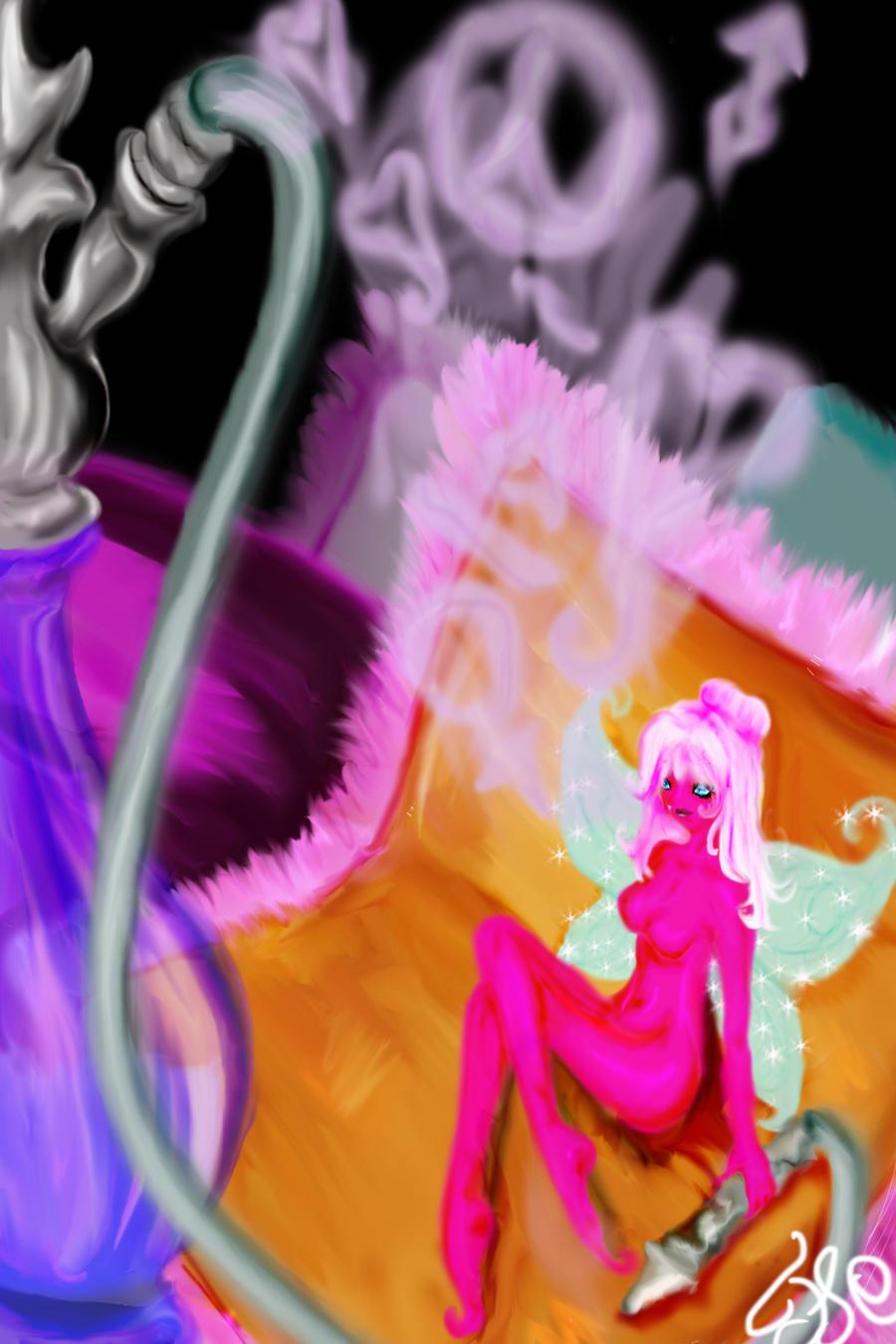 Fairy Hookah by Kikokit