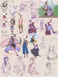 EE: Doodle Drop 01 by KurumPi