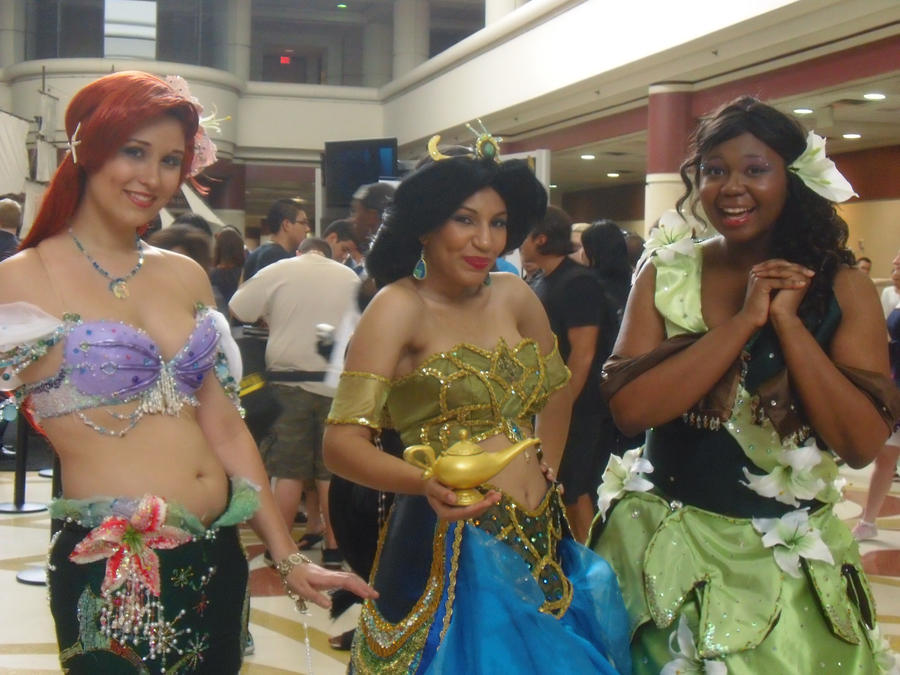 Megacon '11: Disney Princesses by NaturesRose