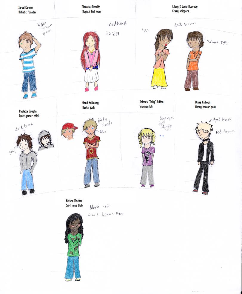 D Artiste Character Design Download : Collab d c u o character design sheet by naturesrose on
