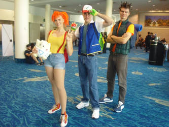 Supercon '18: Ash, Misty, and Brock by NaturesRose