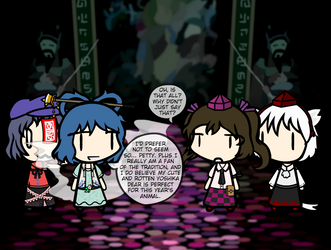 You Don't Need a Valid Reason to Fight In Gensokyo by NaturesRose