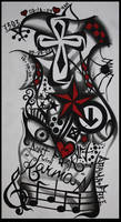 my tattoo sleeve design by JEMDOT