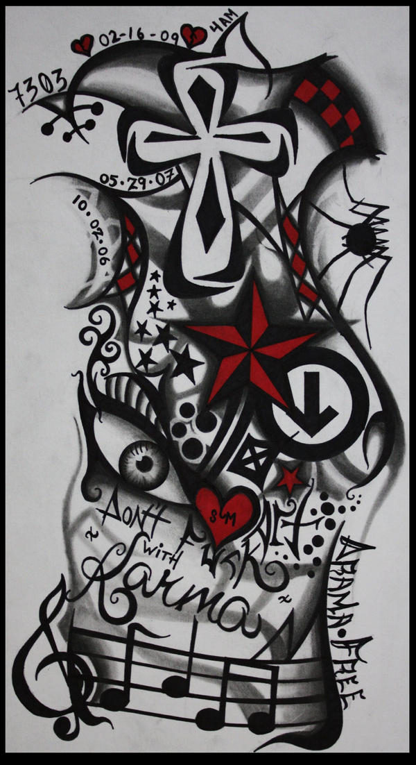 my tattoo sleeve design by jemdot on deviantart. Black Bedroom Furniture Sets. Home Design Ideas