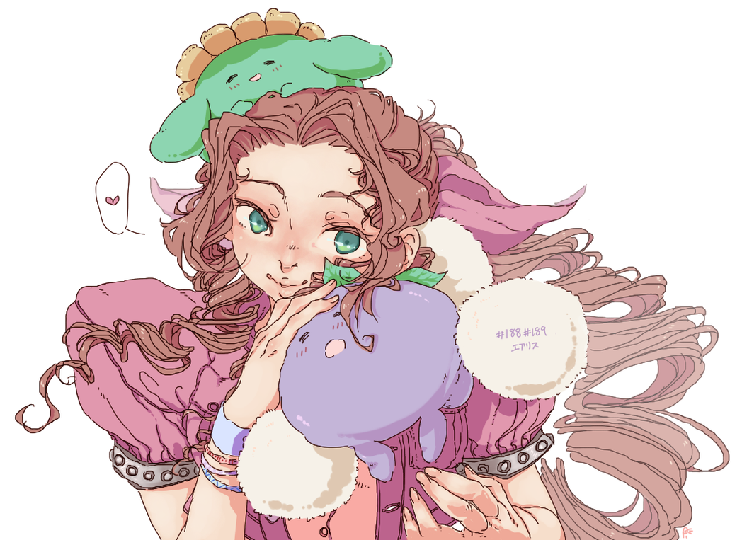 Aerith + #188 + #189 by piruvy
