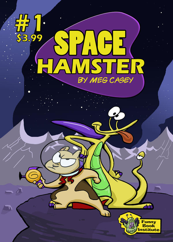 Space Hamster Number 1 - Cover