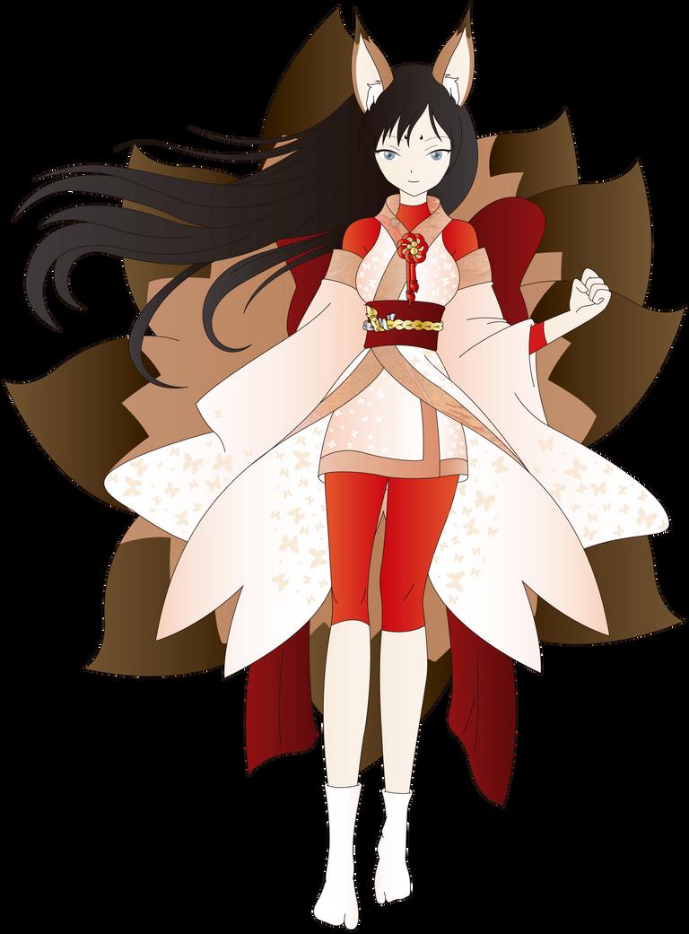 Commision for chutonon - EIKO by TsukiNoKatana