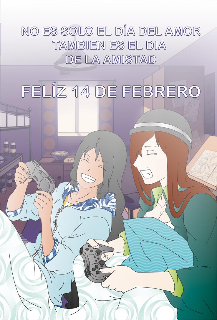 FELIZ 14 DE FEBRERO by TsukiNoKatana
