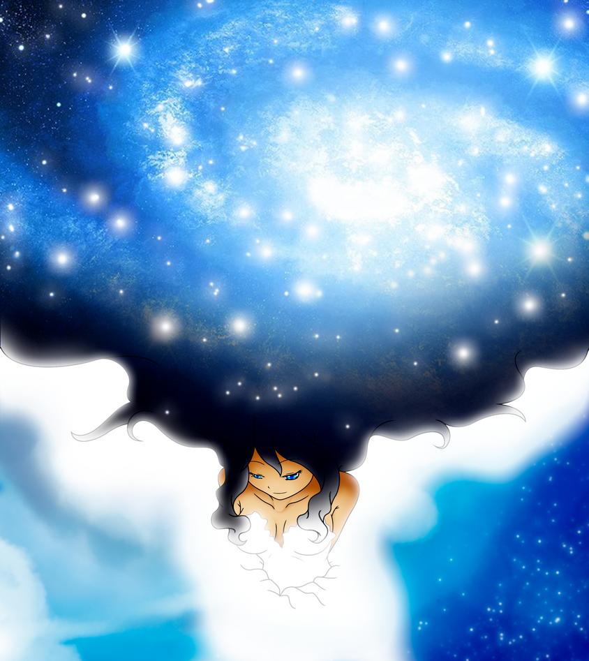 Blue Galaxy by TsukiNoKatana