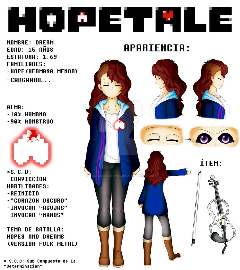 HOPETALE - Dream info by TsukiNoKatana
