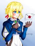 Violet Evergarden by TsukiNoKatana