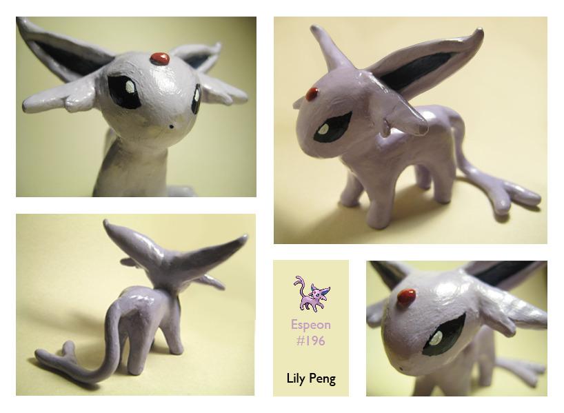 Sculpey Espeon by Pyrolila