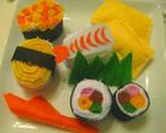 Stuffed Sushi Plushes